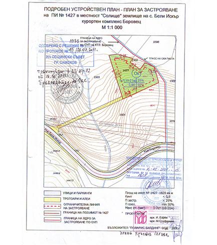 к. к. Боровец, к-с BASE CAMP 2 – УПИ с Виза за проектиране